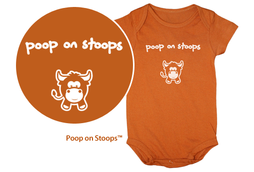 Poop on Stoops Onesie